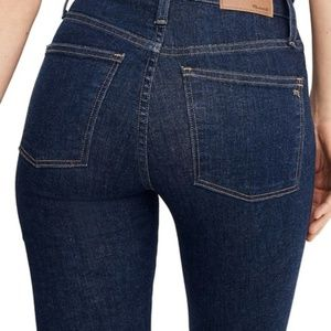 Madewell Jeans - NWT Madewell Curvy High Rise Skinny Jeans Lucille